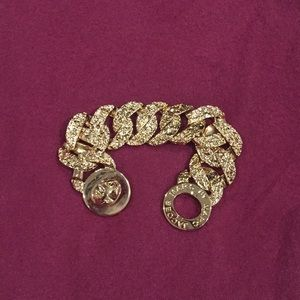 Gold plated bracelet, Marc by Marc Jacobs